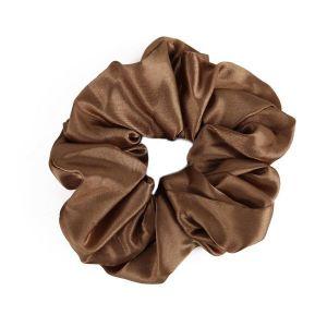 Simple Scrunchies Light Brown