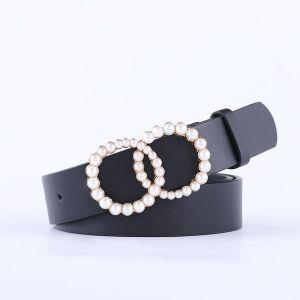 Double Loop Pearl Belt
