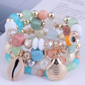 Multi-layered Fashion Bracelet