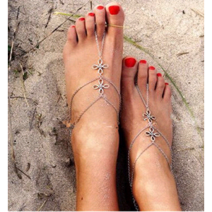 Four Leaf Personality Anklet