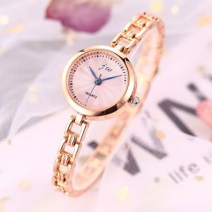 Rose Gold Fashion Thin Band Quartz Bracelet Watch
