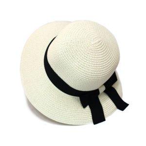 Bowknot Straw Hat