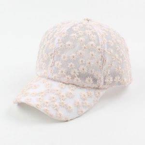Small Flower Cap Breathable