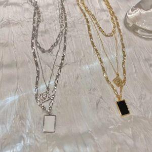 Gold  Multi layer Chain