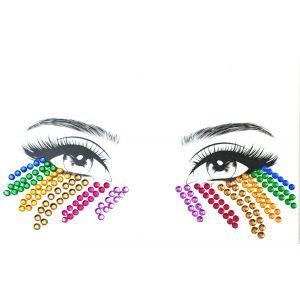 MGB Rainbow Eye Sticker Jewels
