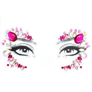MGB Pink  Face Jewels