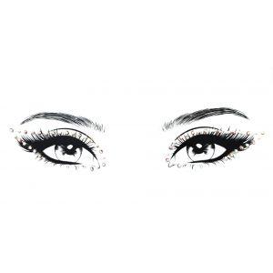 MGB Pearl And Iridescent Eye Gem