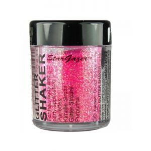 stargazer UV Neon Pink Glitter Shakers