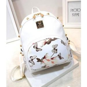 Tide Bag Casual Explosion Backpack White