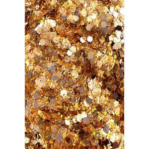 Mix Of Gold Strands Rose gold Glitter