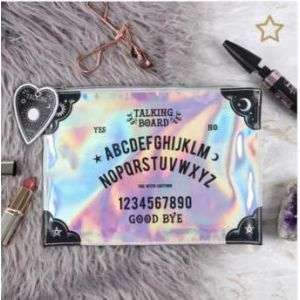 Iridescent Makeup Pouch