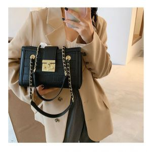 WOMEN'S CHAIN BAG - BLACK