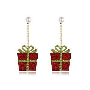 Christmas Gift Non-woven Collection Fashion Earrings