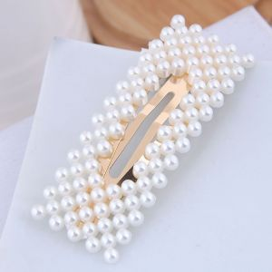 Pearl Hairpin Side Clip