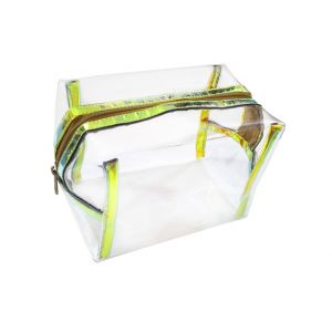 Golden Strip Transparent Bag