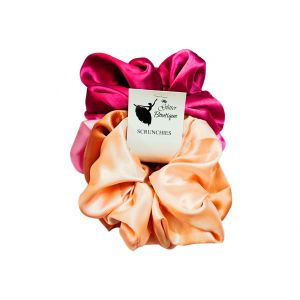 Pastel Colors Small Hair Scrunchies