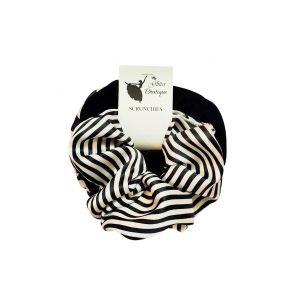 Zebra Print Hair Scrunchies