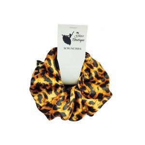 Leopard Print Hair Scrunchies