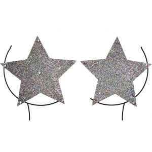 Silver Star Nipple Covers