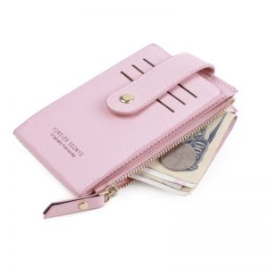 Korean Style Baby Pink Wallet