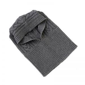 Winter Woolen Cotton All-match Hat