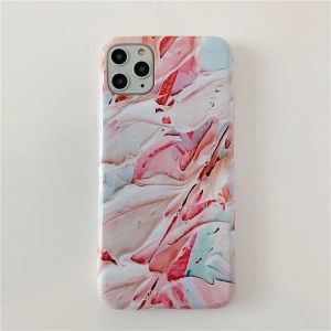 Cream Paint Paint iphone Promax Mobile Phone Case