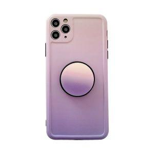 Simple Gradient Colour Stand Apple 11promax Mobile Phone Case