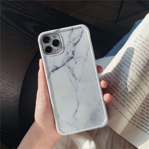 Simple Marble Phone Case For Apple 11