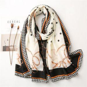 New Cotton And Linen Printed Women Fashion Shawl Warm Scarf