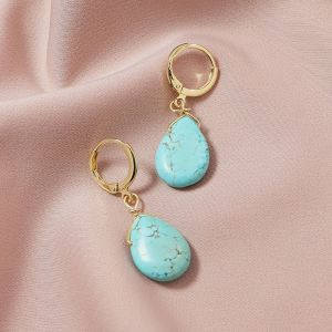 Fashion Natural Stone Earrings