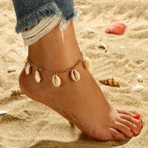 Shell Anklet Single