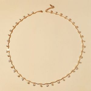 Shell Diamond Waist Chain