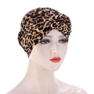 Leopard Cloth Hat