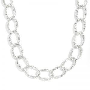 Diamond-studded Rhinestones Women's Necklace
