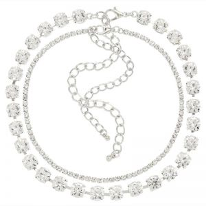Glass Diamond Necklace