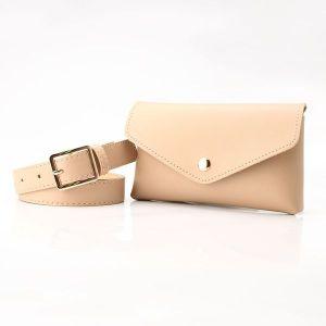 Khaki Small Pocket Belt