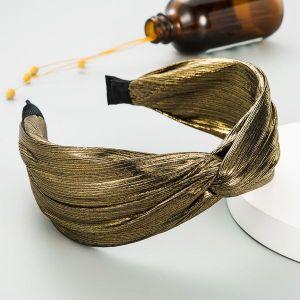 Satin Cross-knotted Headband