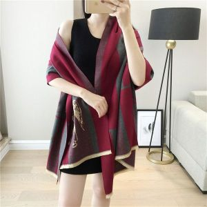 Horse Wine Red Scarf