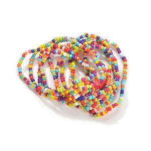 Fashion Beaded Multilayer Color Bead Bracelet