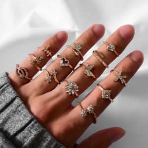 13 Piece Set Ladies Ring Set
