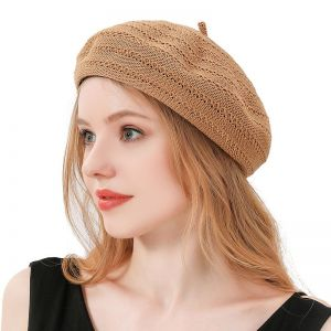 Breathable Hollow Beret