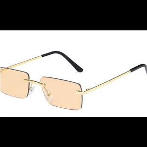 Square Small Frame Marine Sunglasses
