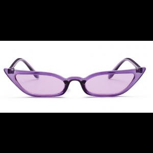 Ladies Fashion Purple Sunglasses